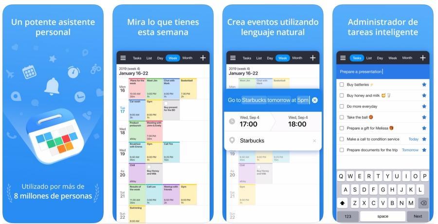Calendars apps de la semana