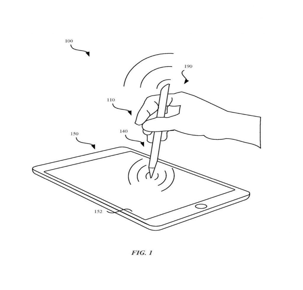 Patente Apple Pencil 3