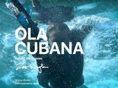 Ola Cubana reportaje Apple con iPhone XS