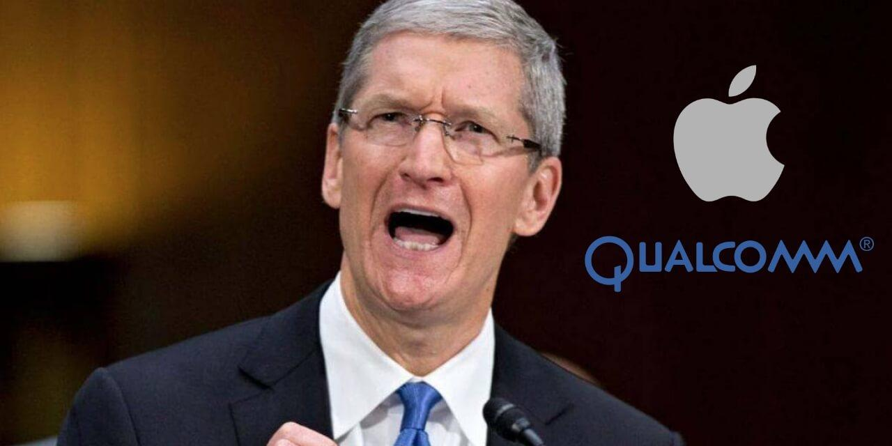 Tim Cook Apple Qualcomm
