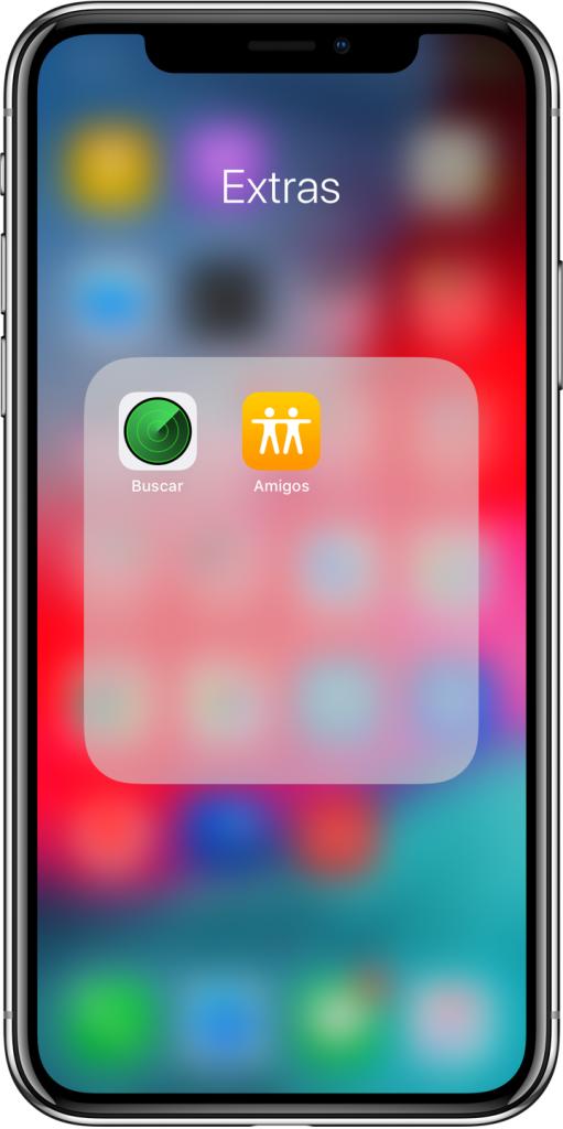Buscar mi iPhone y Amigos