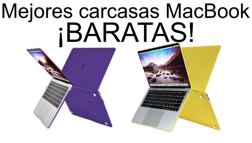 mejores carcasas para MacBook baratas