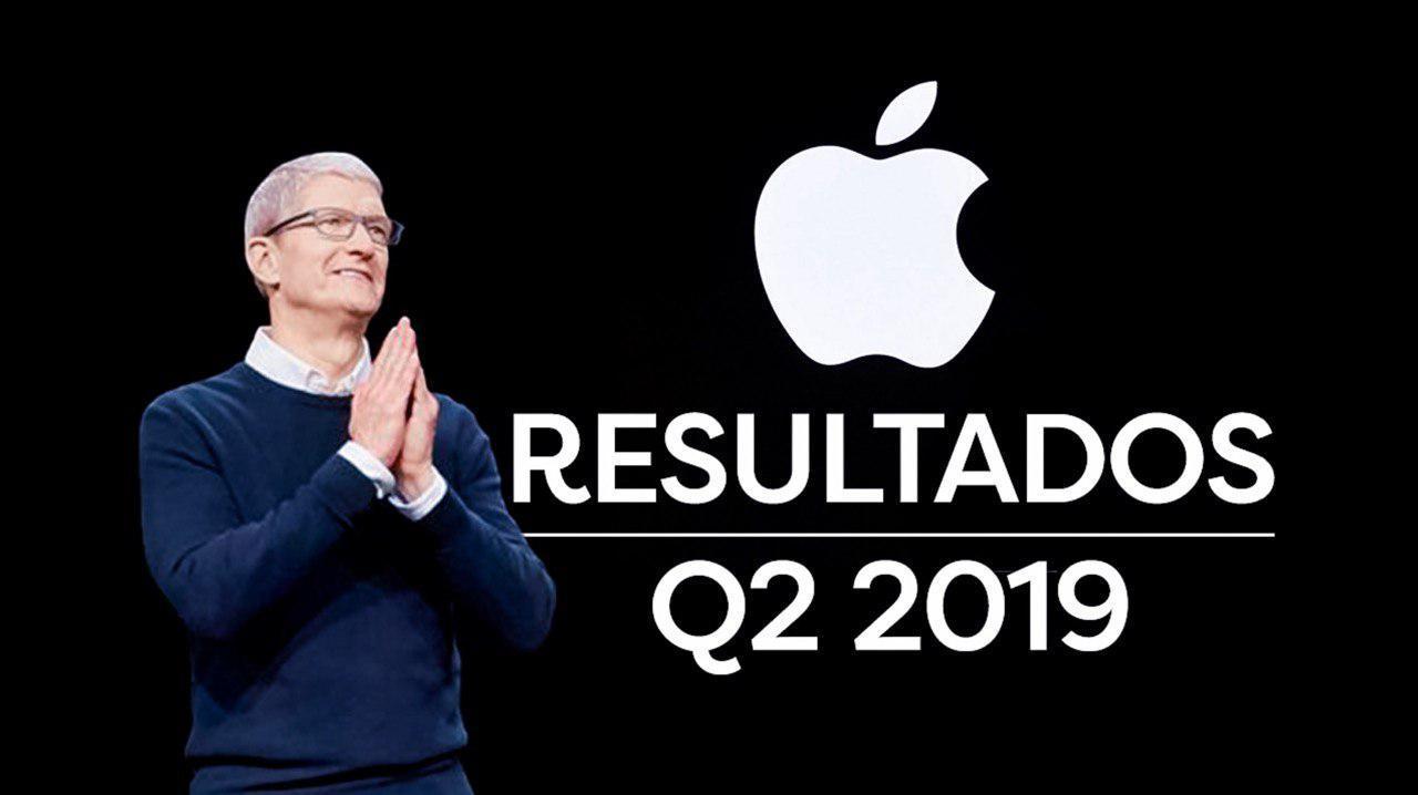 Resultados Q2 2019 Apple