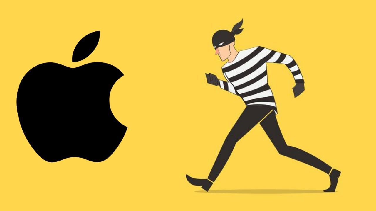 Apple ladron roba estafa iphone