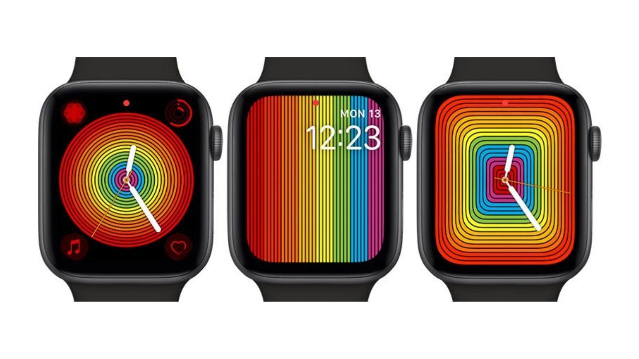 Nuevas esferas Apple Watch Orgullo LGTB 2019