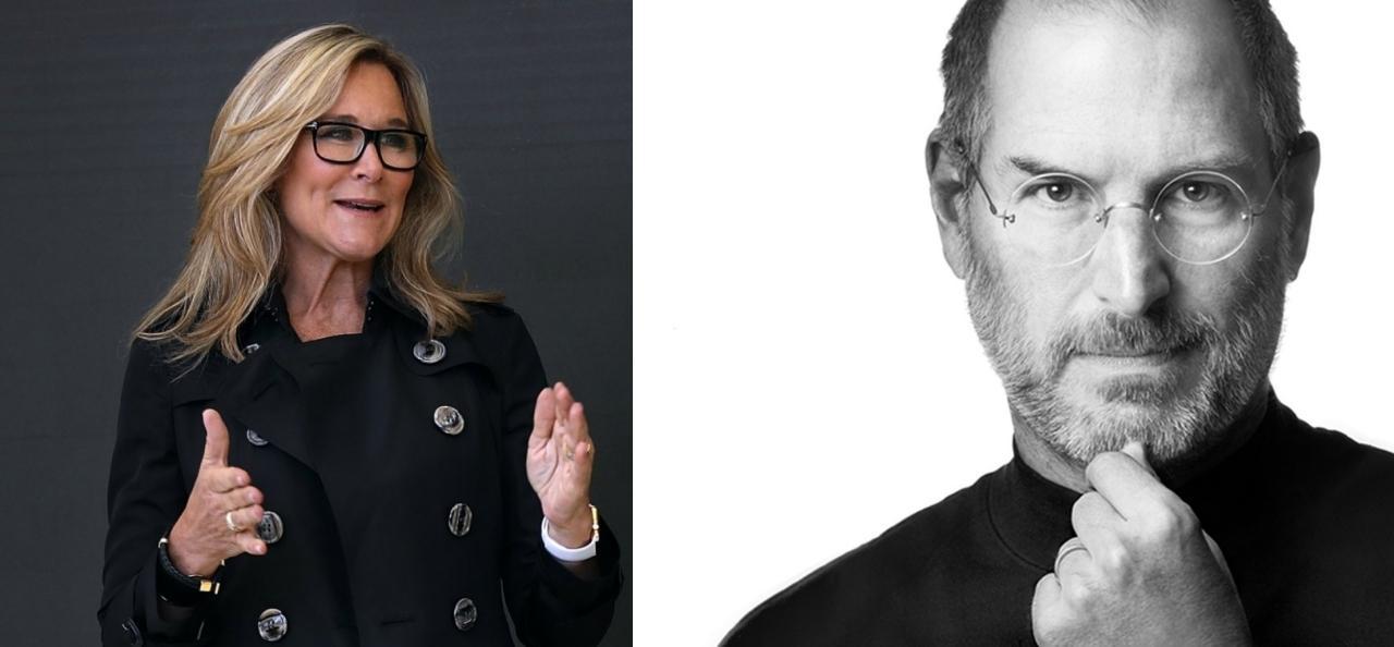 Steve Jobs Angela Ahrendts Apple