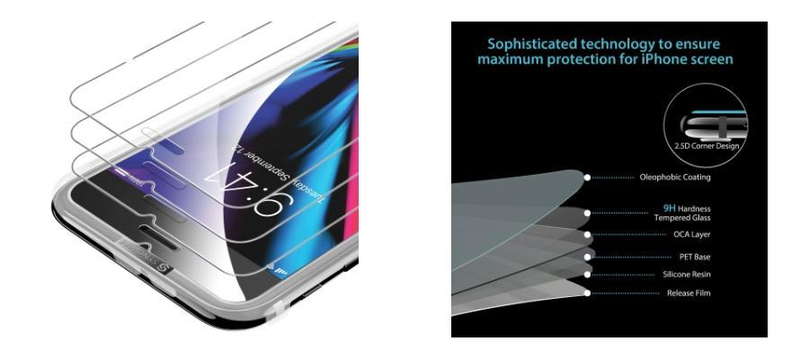 cristales templados iphone