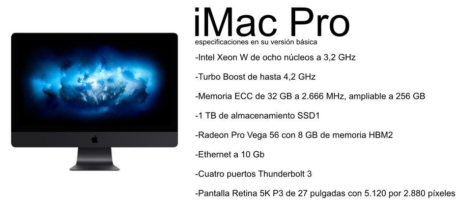 imac pro - mejor mac para diseño grafico