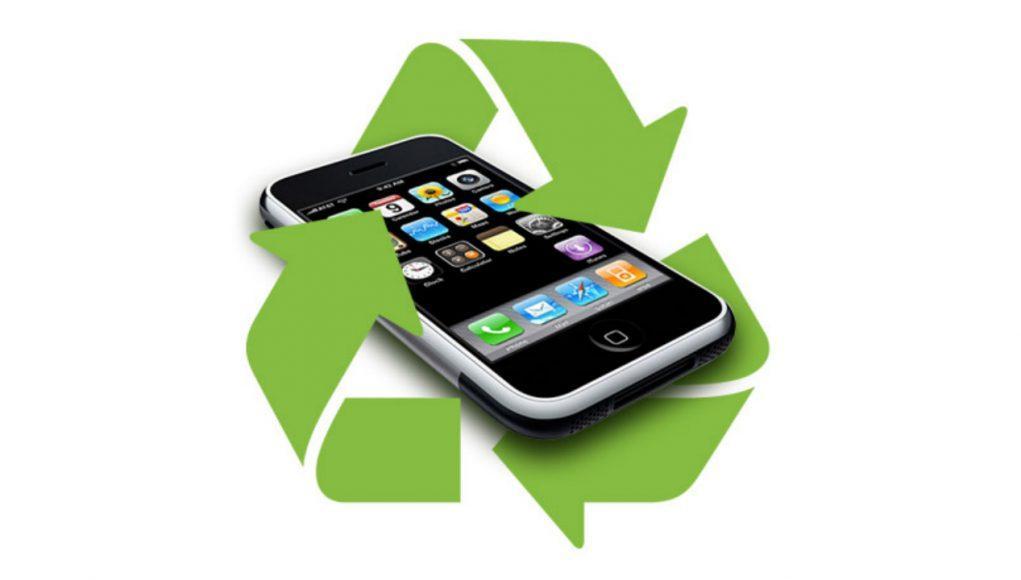 reciclar iphone