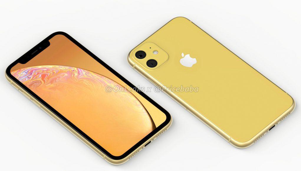 render iPhone XR 2019