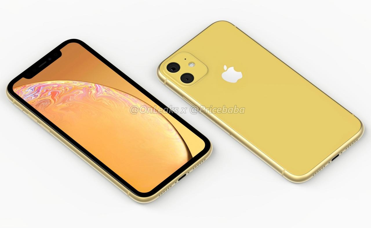 render iPhone XR 2019