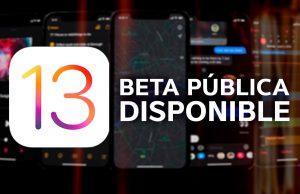 Beta publica iOS 13