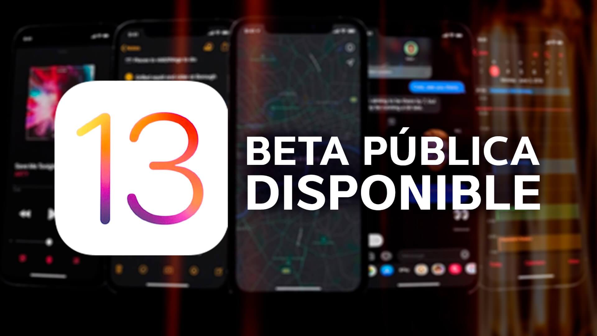 IOS 13 ya está disponible en beta: requisitos y cómo instalarlo