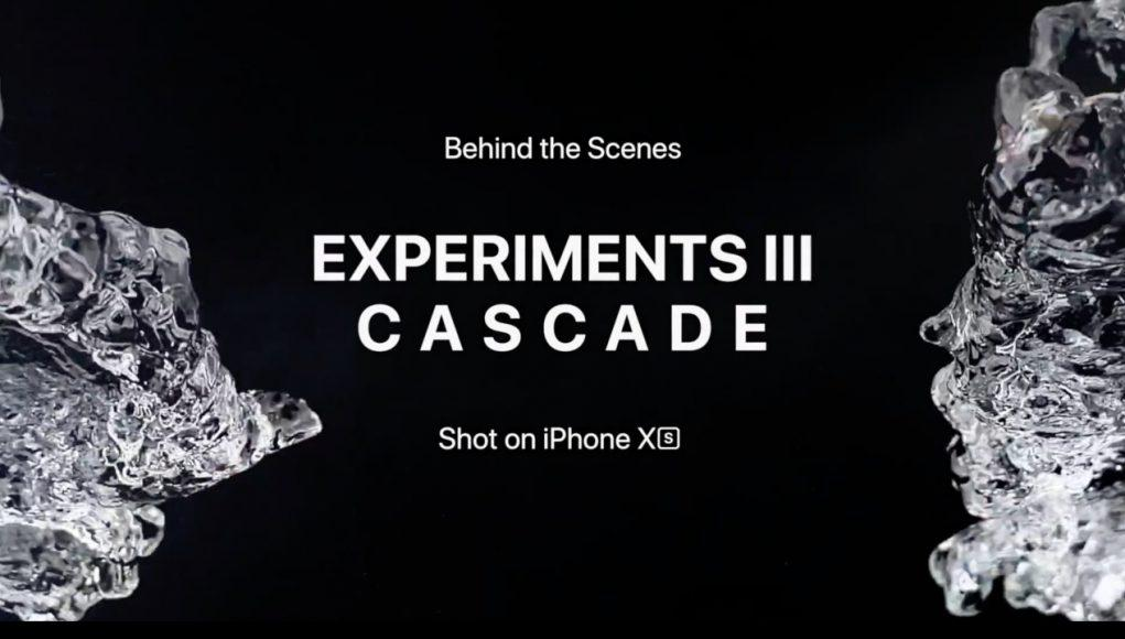 video apple cámara iphone xs