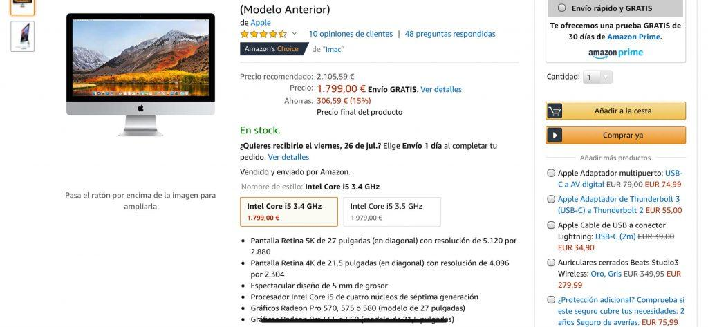 Oferta iMac