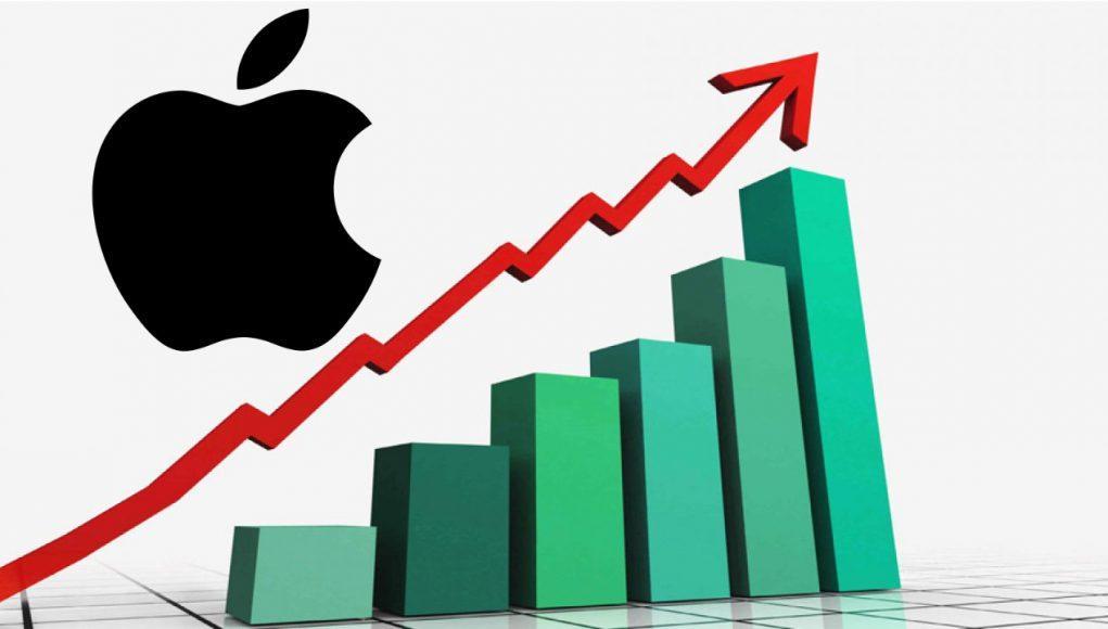 Apple crecimiento bolsa