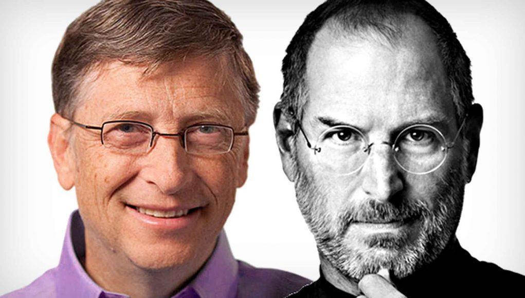 Bill Gates Steve Jobs Apple Microsoft