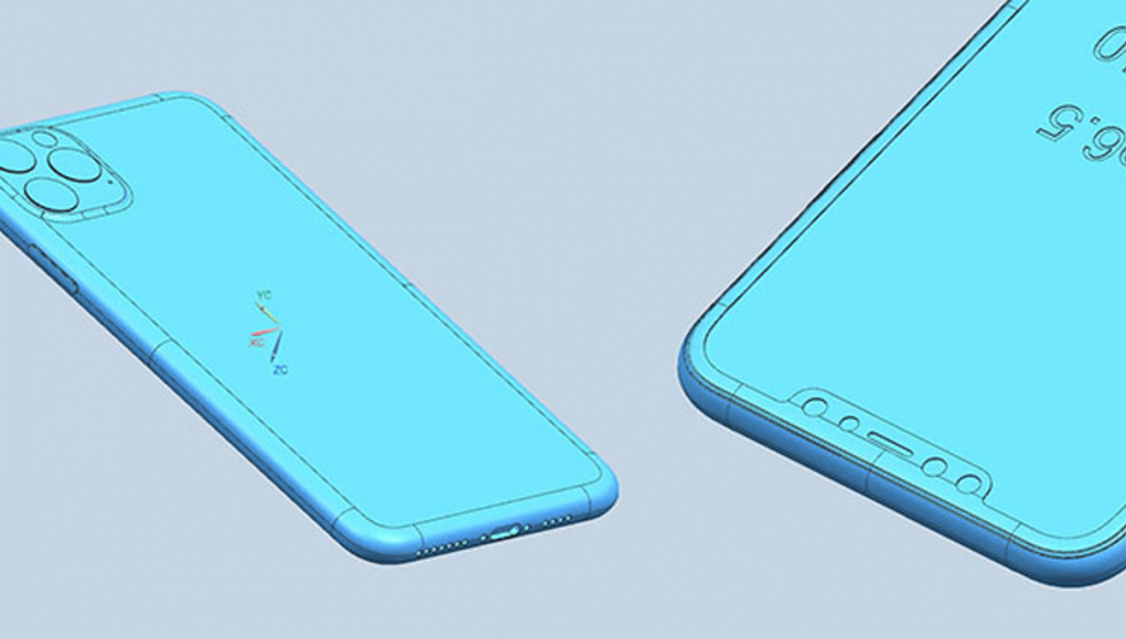 Esquema CAD iPhone 11