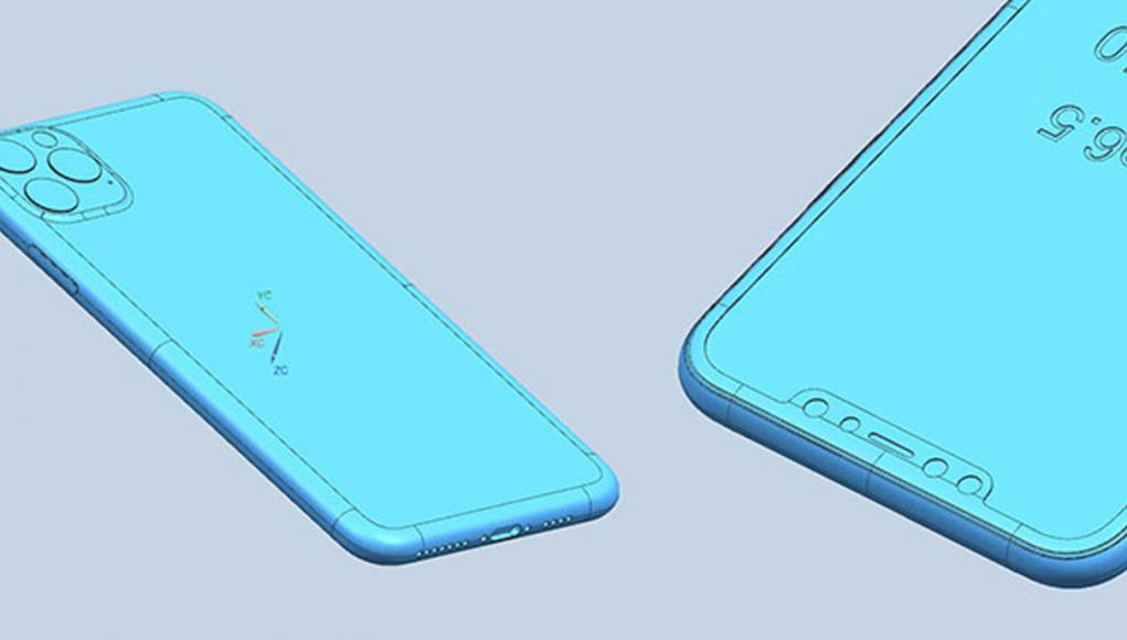 Esquema CAD iPhone 11