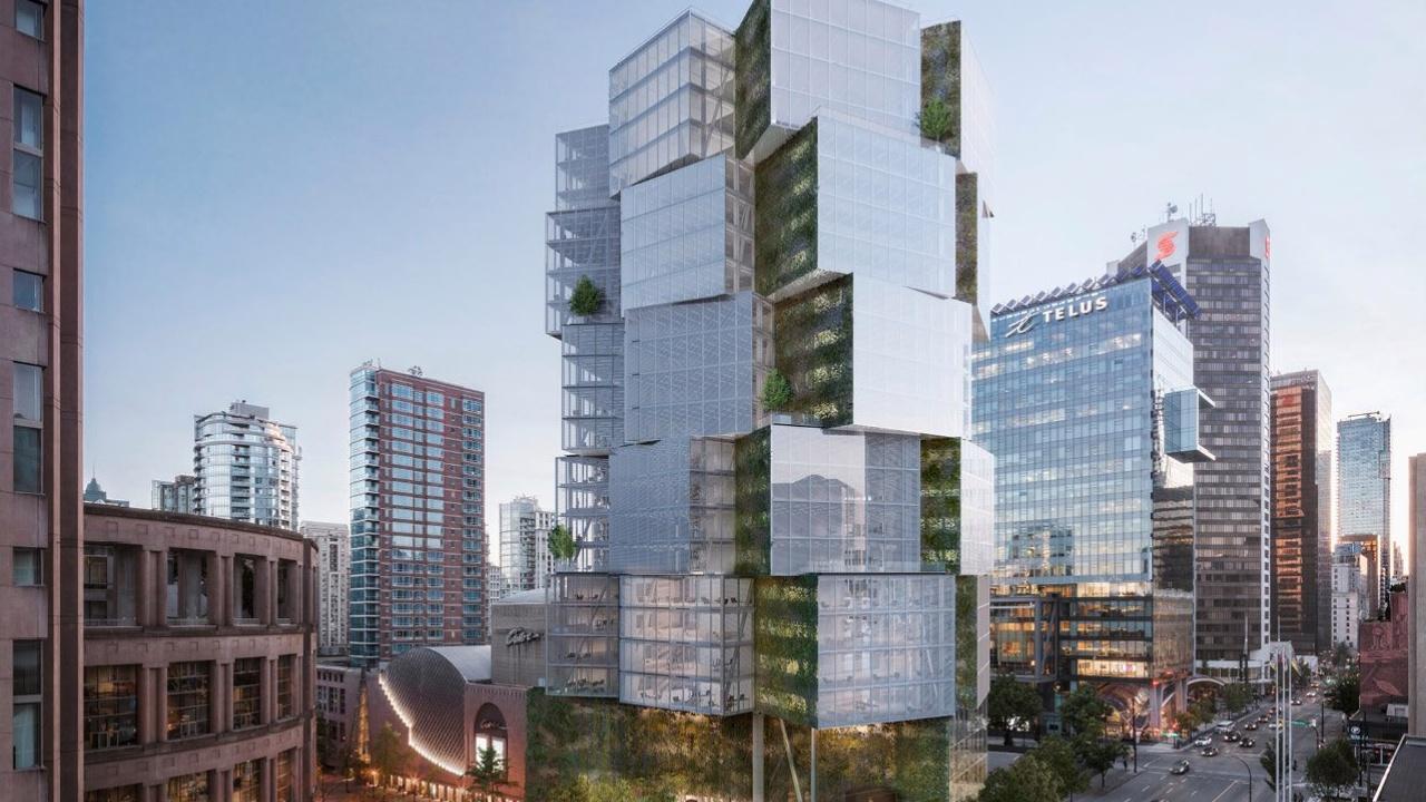edificio Apple vancouver canada