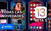 Estas son las novedades que incorpora iOS 13 y iPadOS beta 5