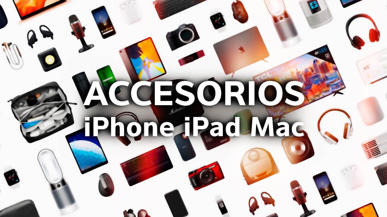 No te pierdas los mejores accesorios para equipos de Apple de esta semana