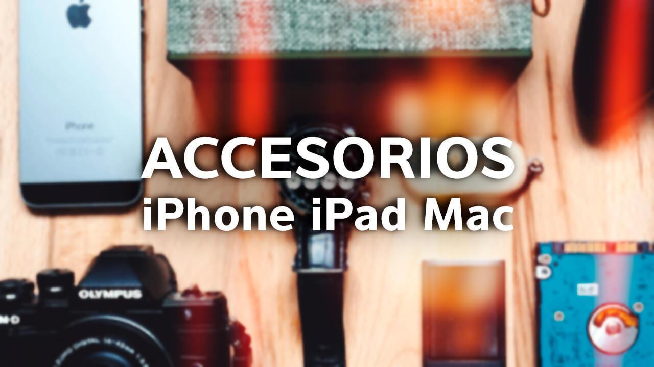 Accesorios baratos iPhone iPad Mac 5