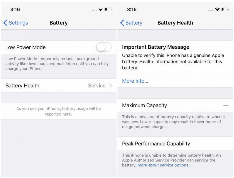 Apple bloquea la batería del iPhone para desalentar reparaciones: iFixit