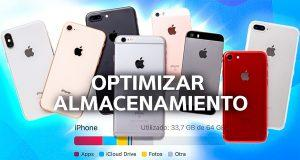Optimizar almacenamiento iPhone