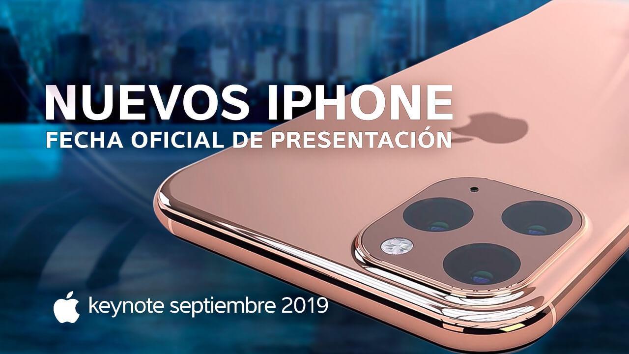 Presentación nuevos iPhone 2019
