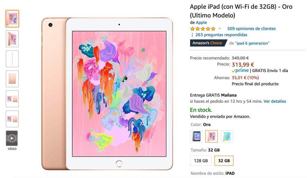 Oferta iPad barato Apple