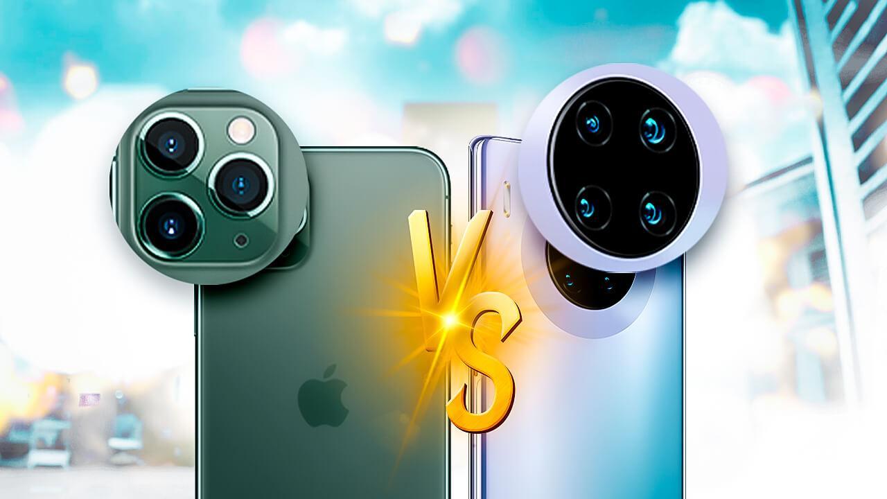 iPhone 11 vs huawei mate 30 pro