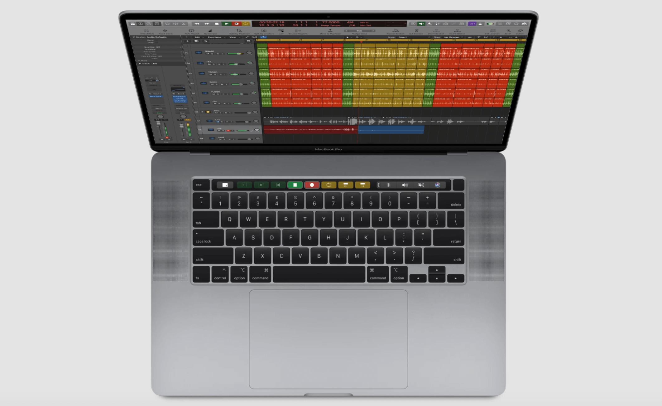 "Magic Keyboard Apple MacBook Pro de 16"""