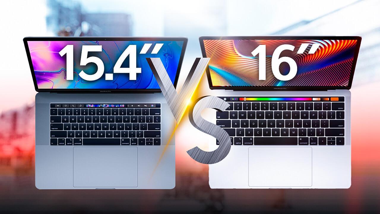 MacBook Pro 16 comparativa