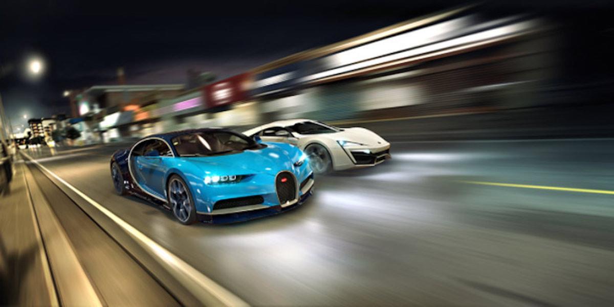 Juegos de coches iOS