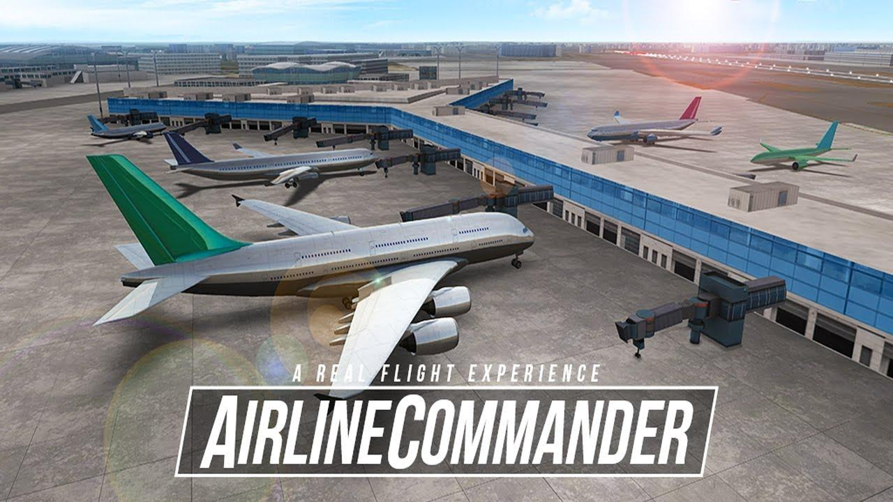 Airline Commander juego avion iphone ipad