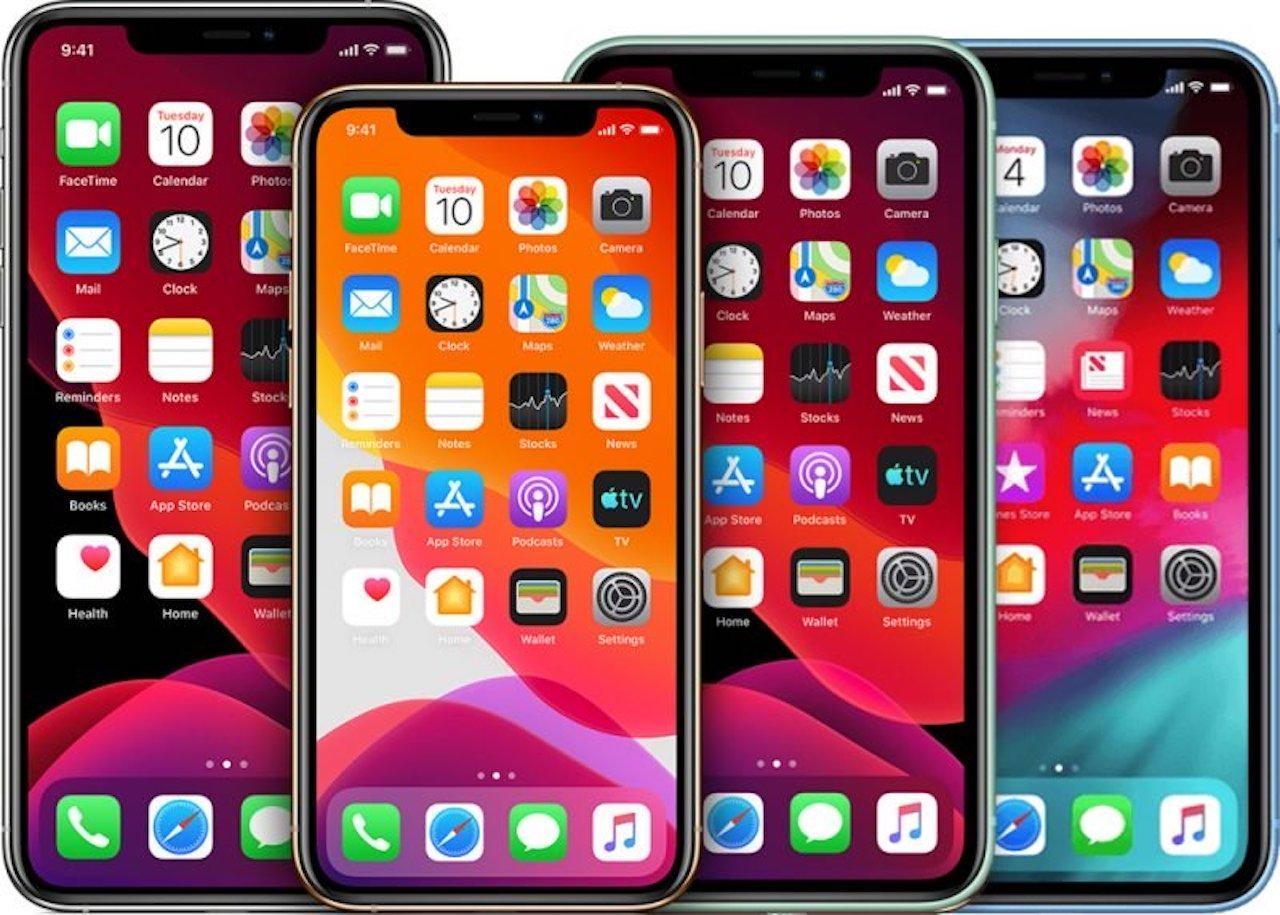 cuatro iPhone rumores 2020