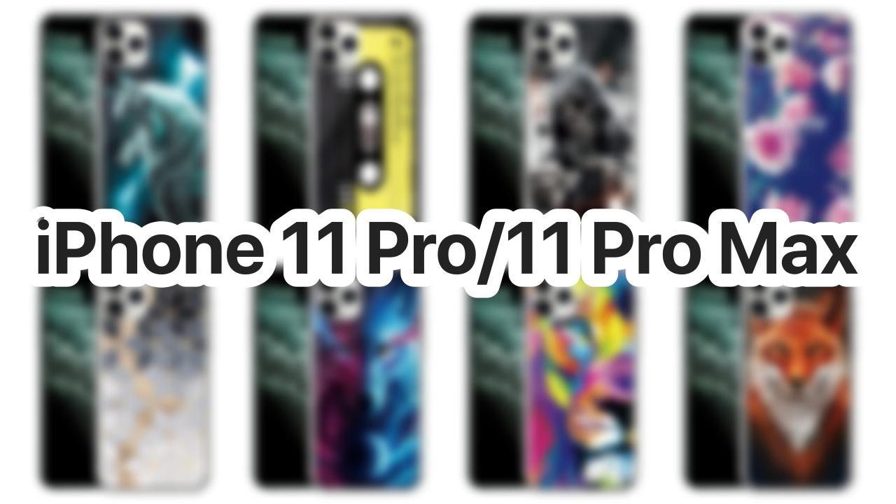 Fundas iPhone 11 Pro y 11 Pro Max con diseños llamativos, sencillos y elegantes