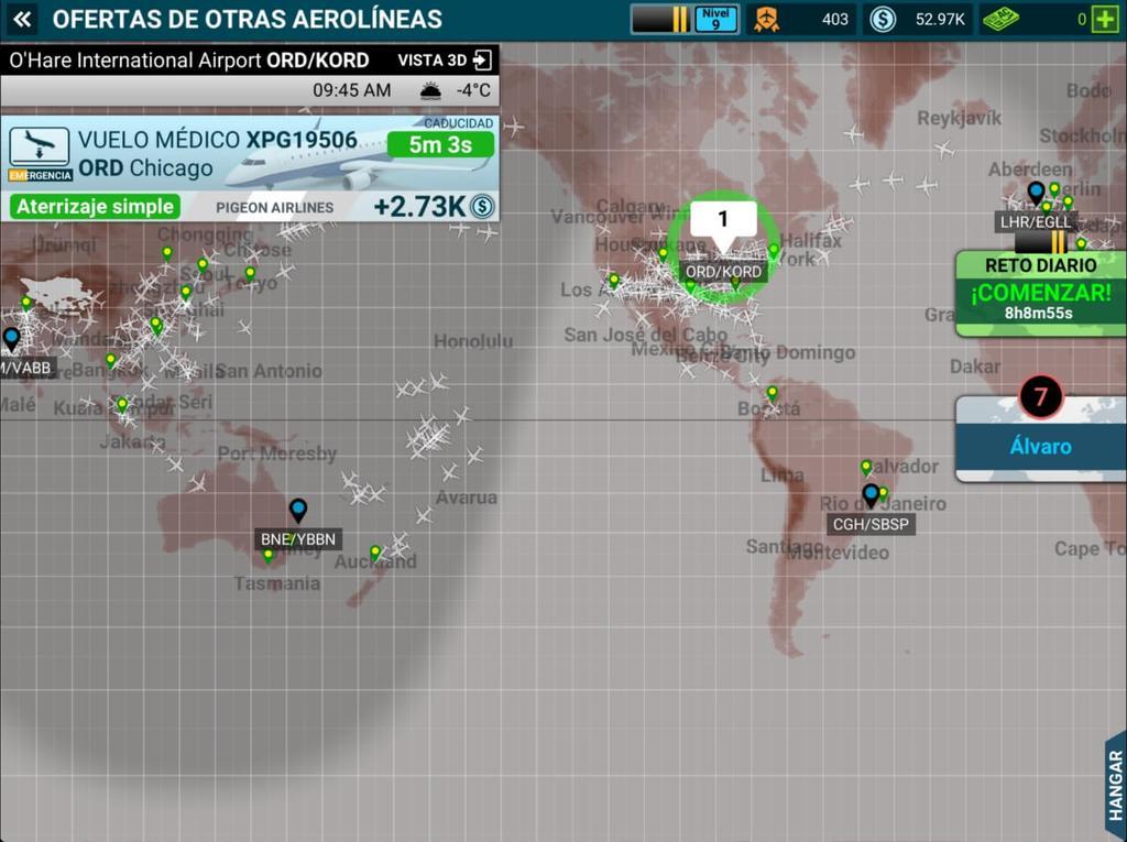 mapa airline commander