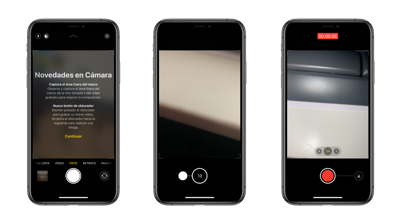 modo rafaga iphone 11