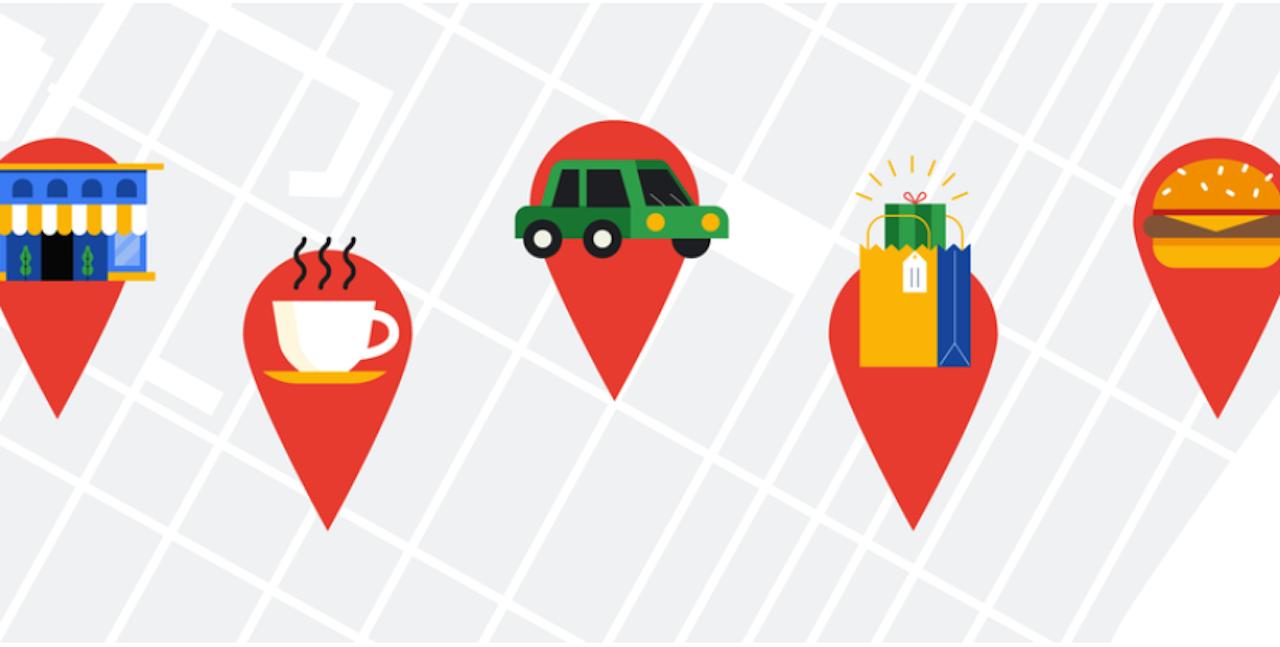 ubicaciones google maps