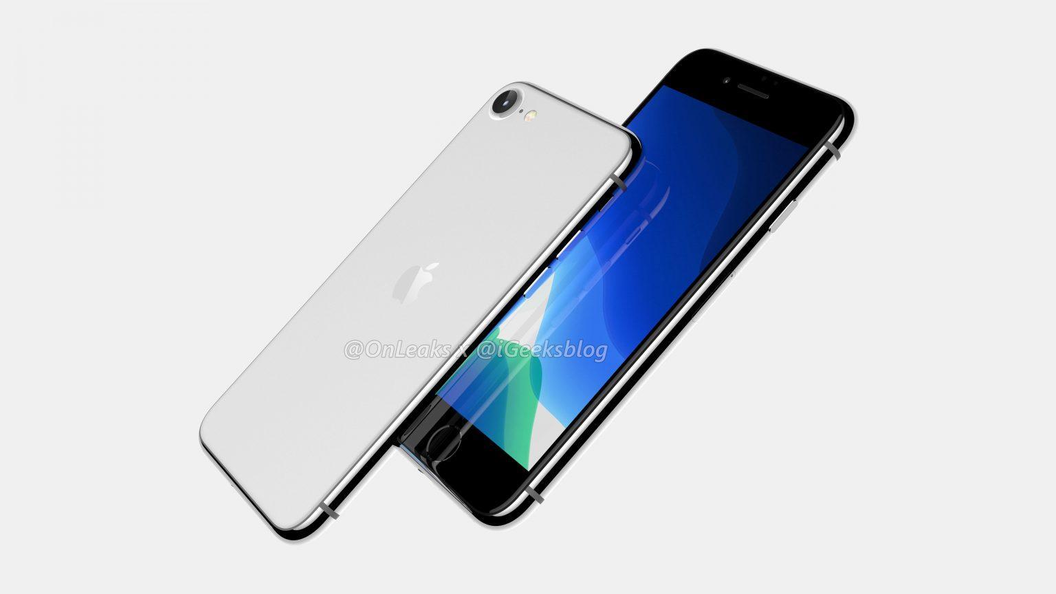 iPhone 9 iPhone SE 2 render