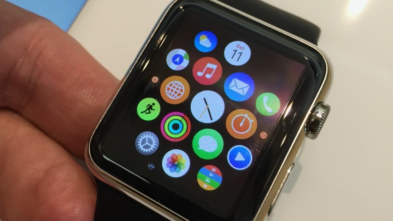 Apple Watch descargar apps