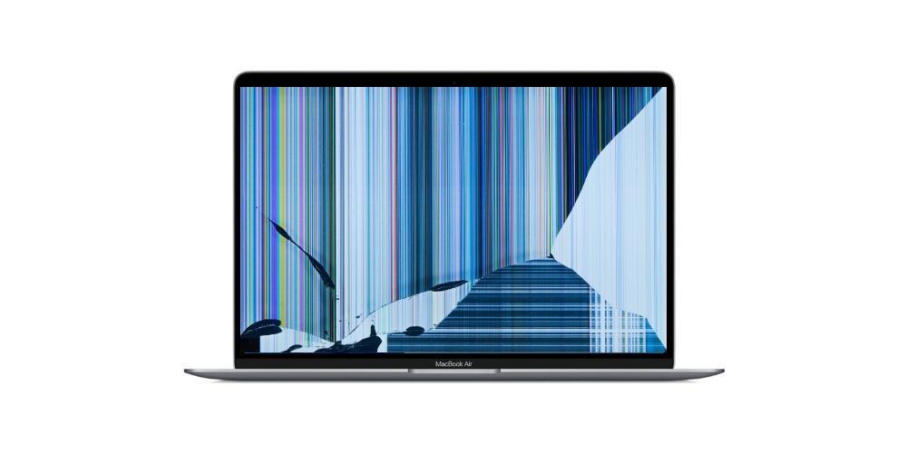 Pantalla MacBook rota