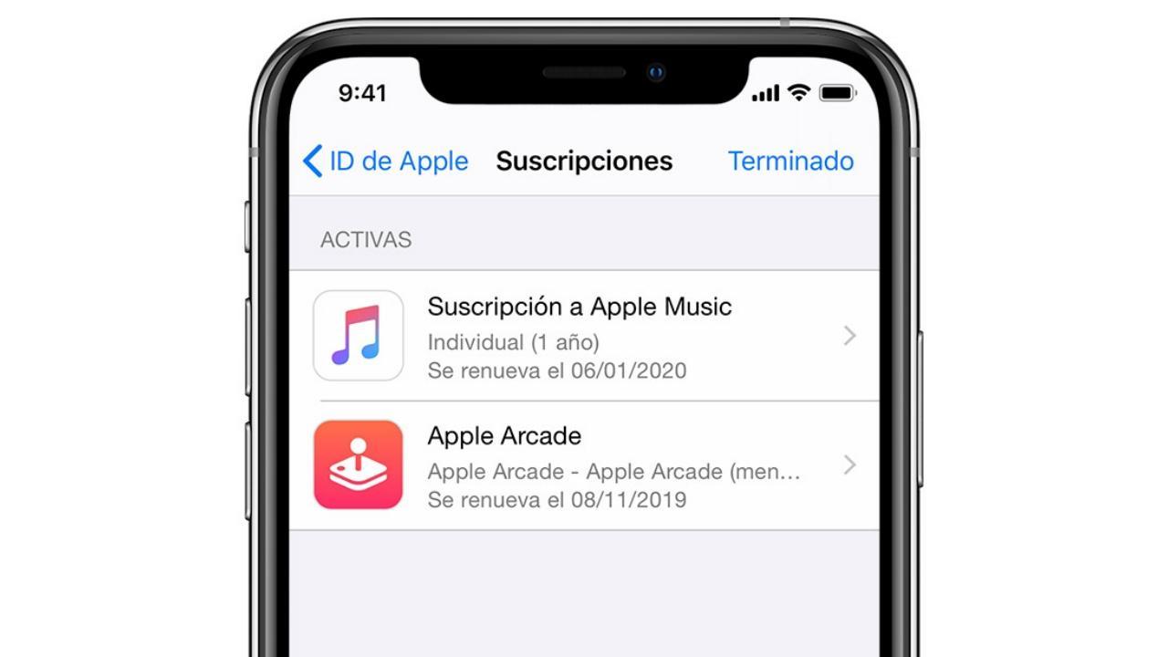 cancelar suscripciones iphone ipad