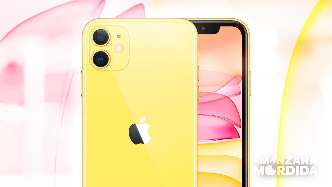 Iphone 11 amarillo