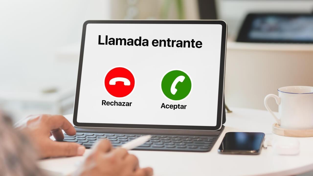 como llamar con el ipad