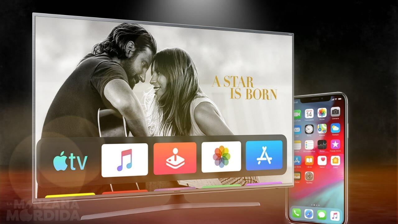 duplicar pantalla iphone smart tv