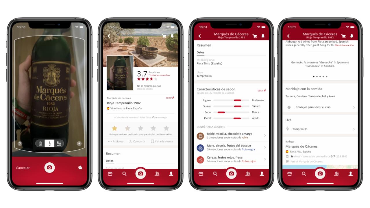 Vivino, la mejor aplicación para elegir vino en iPhone o iPad