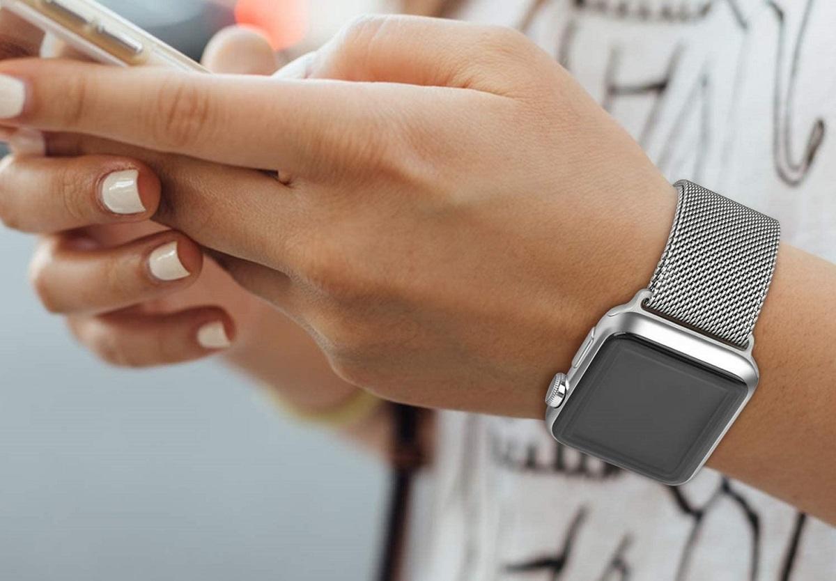 Correa Acero inoxidable Apple Watch